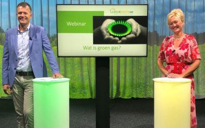 Kom alles te weten over groen gas tijdens het webinar 'Wat is groen gas?' op 17 september